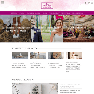 Wedding Forward™ - Planning & Inspiration From Wedding Experts