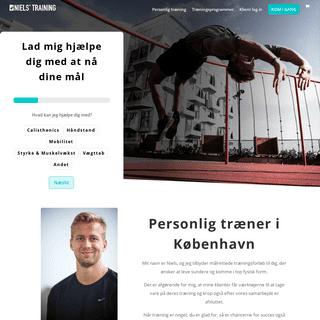 Personlig træner i København og online forløb. I Niels' Training