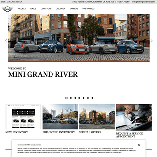 Official Homepage - MINI Grand River
