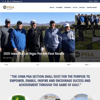 Iowa PGA Section - Home