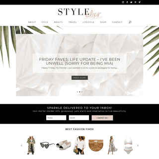 Popular US Fashion, Life and Style Blogger - Style Elixir