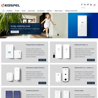 KOSPEL - Elektryczne ogrzewanie CO i podgrzewanie wody