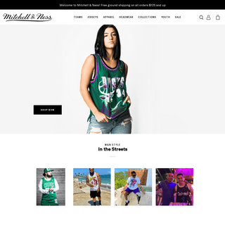 The Official Online Store Mitchell & Ness Nostalgia Co.