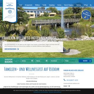 Ihr Familien Wellness Hotel auf Usedom - Hotel Seeklause Usedom