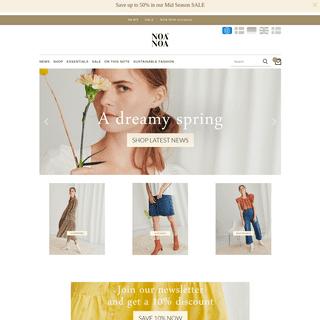 Officiel NOA NOA® shop • Danish design • Fashion clothes - NoaNoa.com