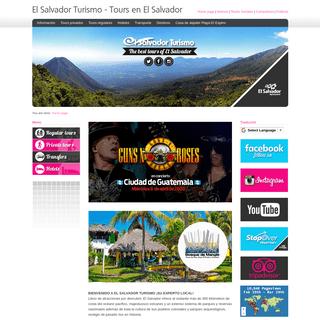El Salvador Turismo - Tours en El Salvador
