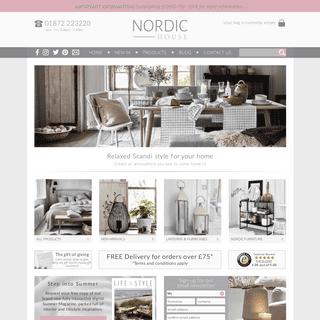 Scandi Decor - Best Homewares Shop Online UK - Scandi Homeware