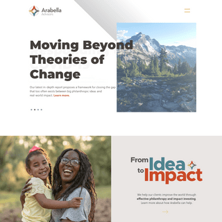 Philanthropy and Impact Investing - Arabella Advisors