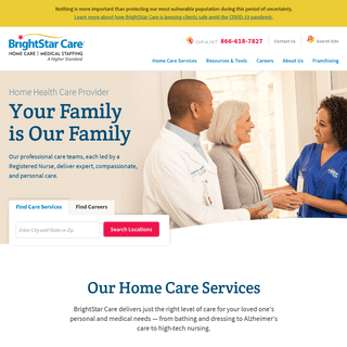 Home Care Agency - BrightStar Care