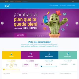 CNT - Telefonía fija y móvil, Internet y TV