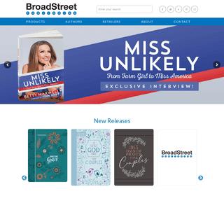 Home - BroadStreet Publishing®