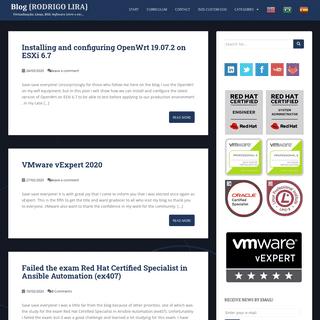 RODRIGO LIRA - Virtualização, Linux, BSD, Software Livre e etc...