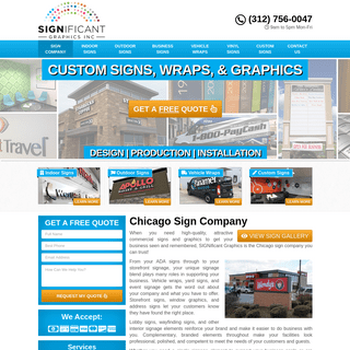 #1 Sign Company Chicago, IL - Commercial Signs, Graphics & Wraps