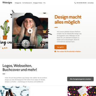 Logos, Web, Grafikdesign & mehr. - 99designs