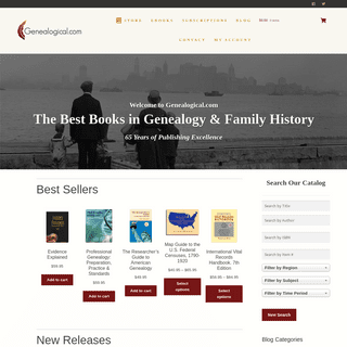 ArchiveBay.com - genealogical.com - Welcome to Genealogical.comThe Best Books in Genealogy & Family History 65 Years of Publishing Excellence - Genealogical.com