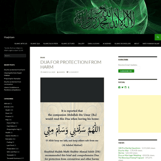 HaqIslam - -Surely, the true religion in Allah's sight is Islam- (3-19)