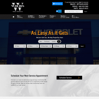 ArchiveBay.com - wiersauto.com - New and Used Chevrolet, GMC and CADILLAC Dealer Demotte - Wiers Chevrolet Cadillac GMC