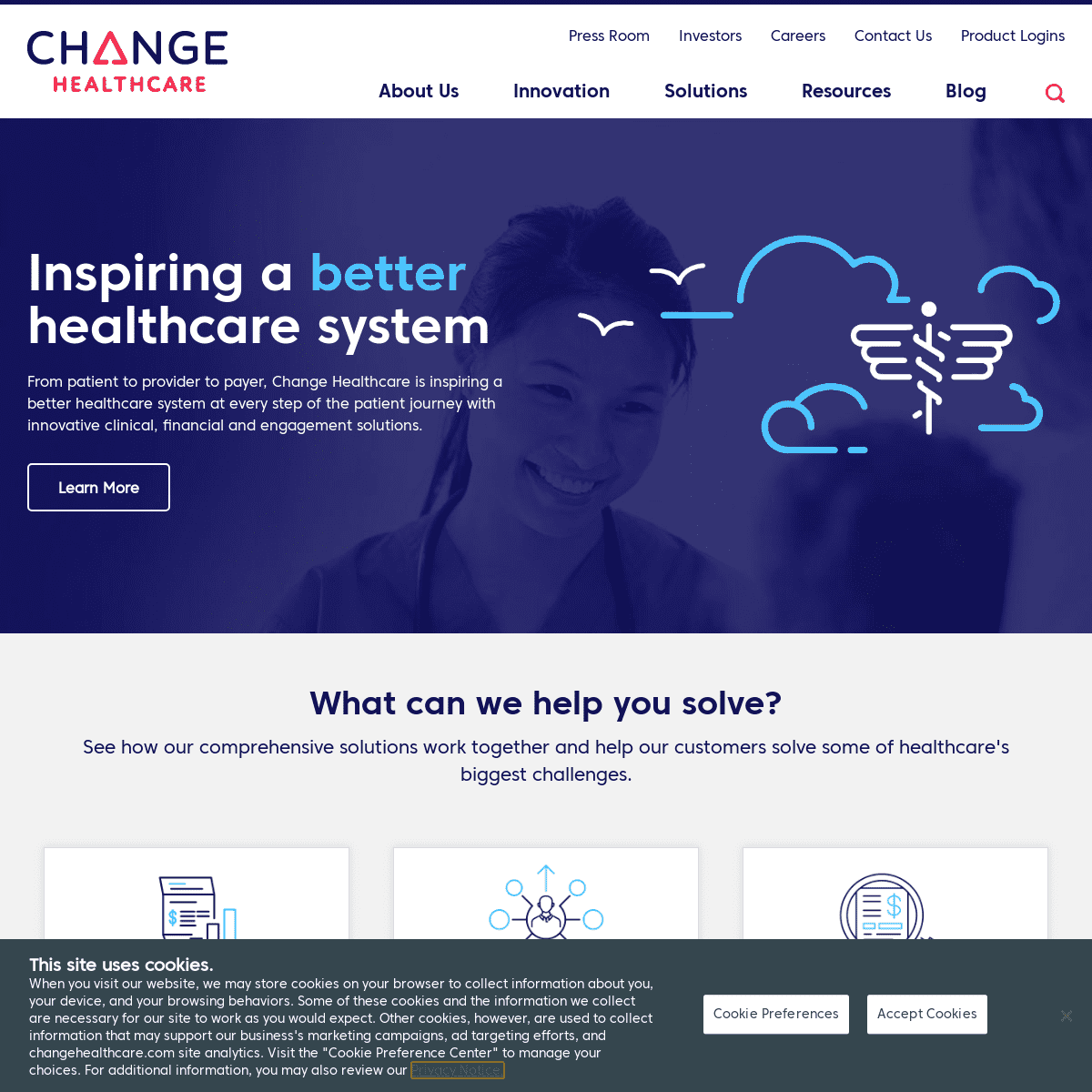 Healthcare Technology & Business Solutions Company - Change Healthcare