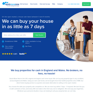 Quick Move Now- We can buy your house in just 7 days