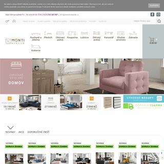 MONTI nábytek - klíč pro Váš krásný domov
