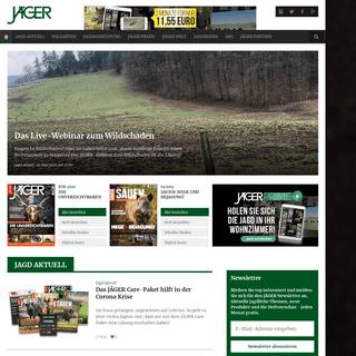 Deutsche Jäger-Zeitung seit 1883 - Jäger