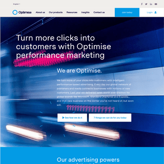 Performance Marketing- Turn More Clicks into Customers - Optimise