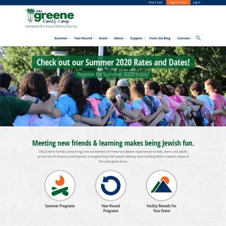 Greene Family Camp - Inspiring Jewish life in Texas and Oklahoma all year long