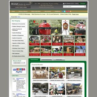 Birstall Garden Centre Online - Garden Furniture, Buildings & BBQs