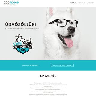A complete backup of dogtogon.hu