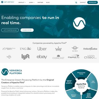 Stream processing powered by Apache Flink - Ververica