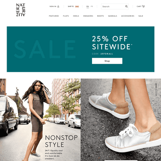 Women's Shoes, Sandals, Boots & Handbags Naturalizer.ca