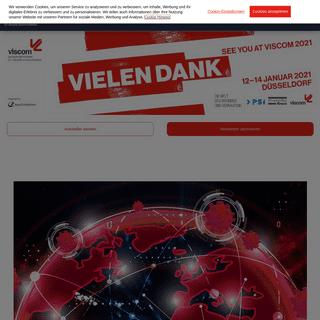 viscom - europas fachmesse für visuelle kommunikation - viscom düsseldorf 2021