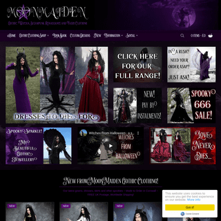 Gothic Clothing by Moonmaiden