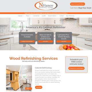 #1 Wood Refinishing Company in the US - N-Hance