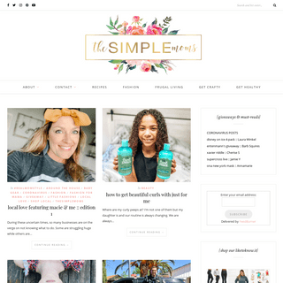 the SIMPLE moms - real moms {sharing} all things fabulous