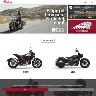 Indian Motorcycle-Sweden-Home