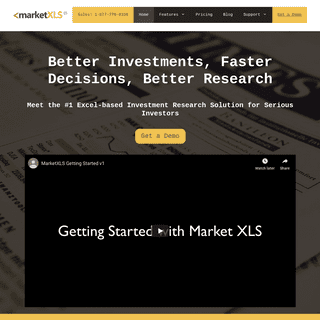 Excel-based Investment Research Solution for Serious Investors (Stock Research Tool)