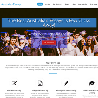 ArchiveBay.com - australianessays.org - Australian Essays — Professional Essay Writing Service