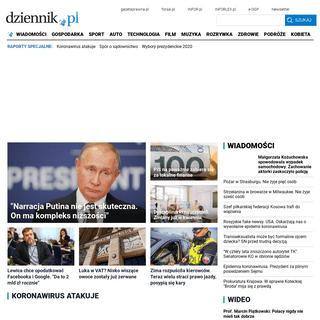 Dziennik.pl - wiadomości z kraju i ze świata - film, muzyka, kultura, gospodarka, auto - Dziennik