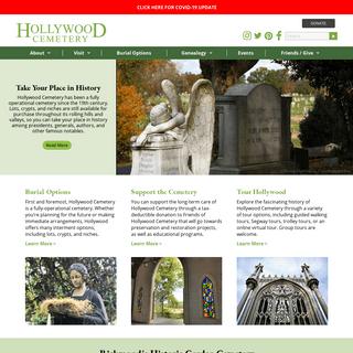 Historical Garden Cemetery - Richmond, VA - Hollywood Cemetery