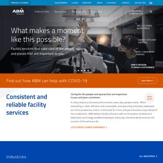 ArchiveBay.com - abm.com - Home - Building Maintenance and Facility Services