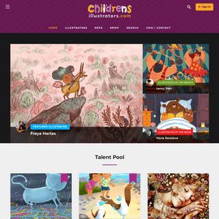 International directory of children's illustrators