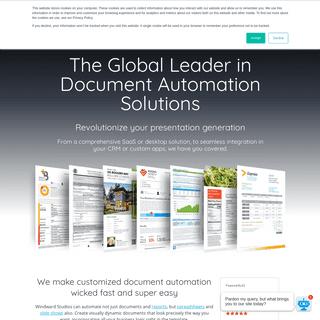 Document Automation Software & Document Generation - Windward Studios