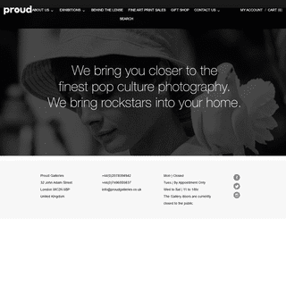 A complete backup of proudonline.co.uk