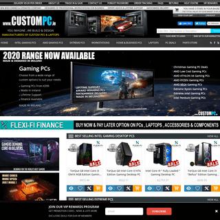 ArchiveBay.com - custompc.ie - www.CUSTOMPC.ie - Custom Gaming Desktop PCs & Laptops Featuring Nvidia GeForce & Radeon Graphics Cards - Irelands PC Specialists