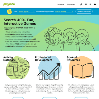 Find Online Interactive Group Games - playmeo