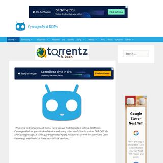 ArchiveBay.com - cyanogenmodroms.com - Home - CyanogenMod Roms