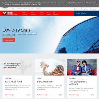 ArchiveBay.com - kotak.com - Savings Accounts, Personal Loans and Credit Cards - Kotak Mahindra Bank