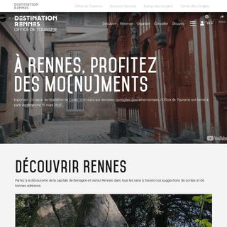 Office de Tourisme de Rennes - Office de Tourisme