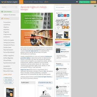 Aprender inglés online - Sherton English